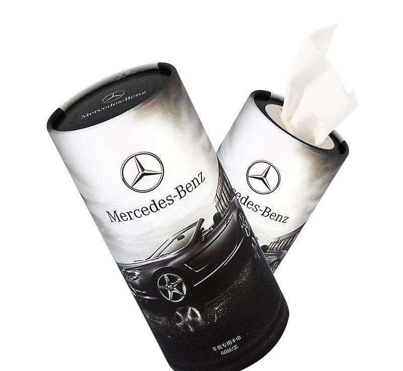 车载圆筒纸巾